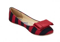 black and garnet lillybee shoes