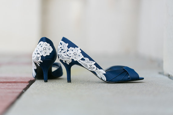 Blue Wedding Shoe (by Walkin on Air)