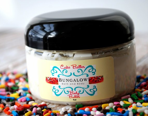 50 Best Bridal Shower Favor Ideas: body butter (by bungalow bath and body)