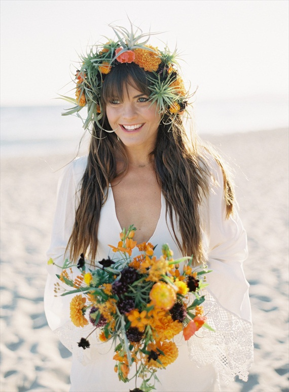 bohemian hair crown | 3 Tips for Wearing a Hair Crown - photo: kurt boomer