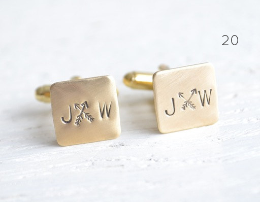 21 Stylish Bohemian Wedding Ideas (boho cuff links: white truffle studio)