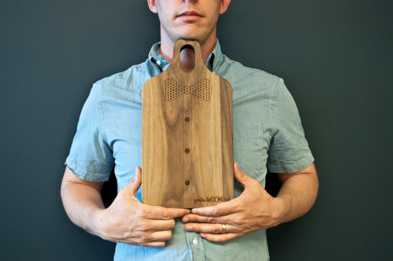 bow tie cutting board