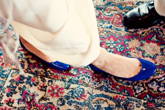 bride-blue-shoes-flats-decorative-carpet
