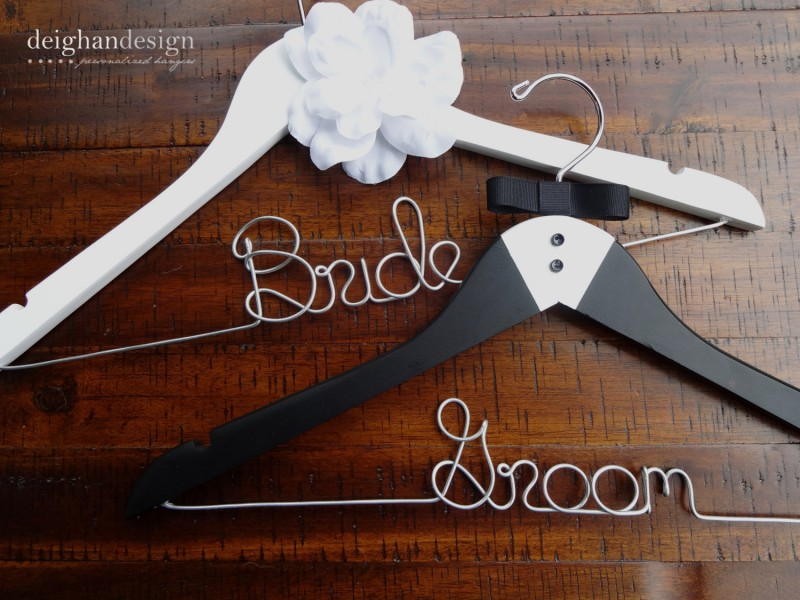 bride groom hangers
