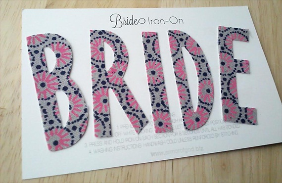 bride iron on via Subscription Box for Brides: The Bride Box