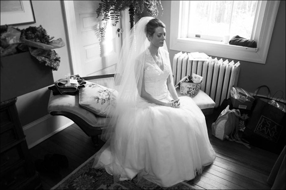 bride-meditates-before-wedding - Liriodendron Mansion Wedding
