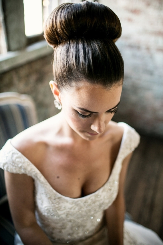 bride top knot