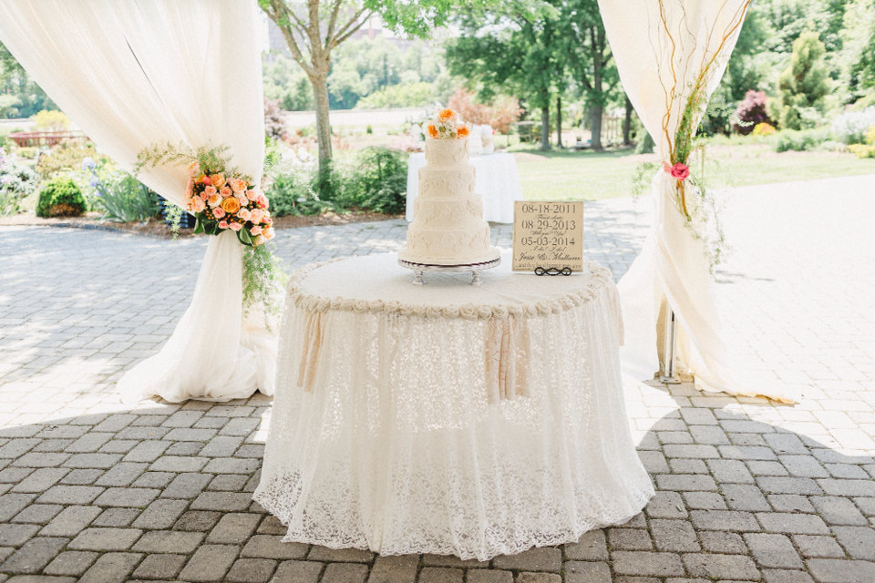 burlap rosette tablecloth | 50 Best Burlap Wedding Ideas | via http://emmalinebride.com/decor/burlap-wedding-ideas/
