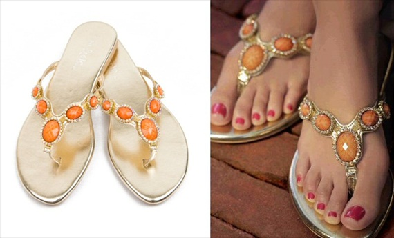 cannes coral summer sandals