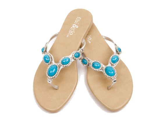 cannes turquoise summer sandals 2014