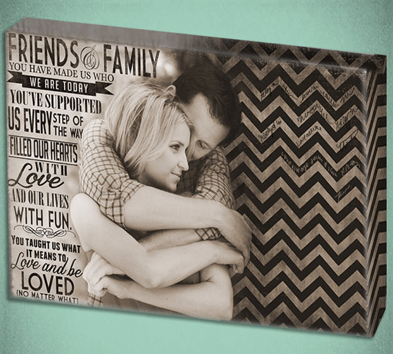 Canvas Guest Book Alternative (by Designer Canvases)