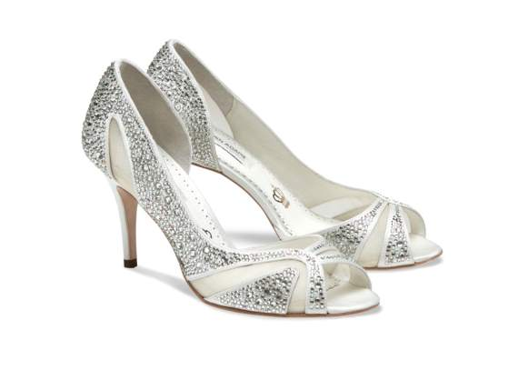 catherine bridal footwear heels with crystals