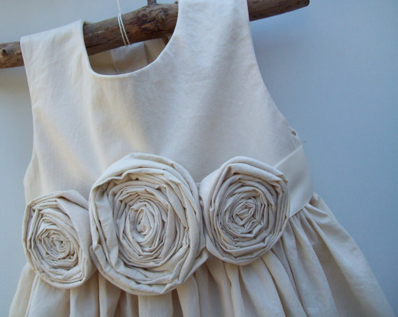 Cedar | Organic Cotton Flower Girl Dresses