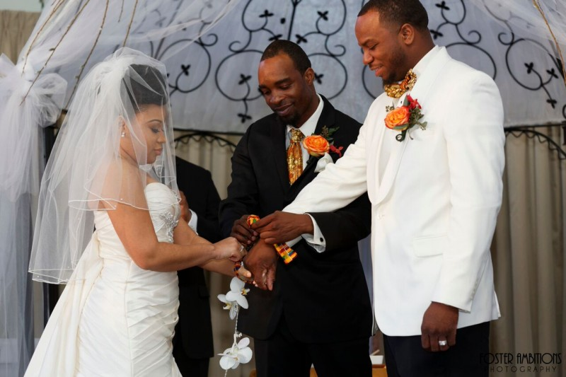 ceremony - tied the knot