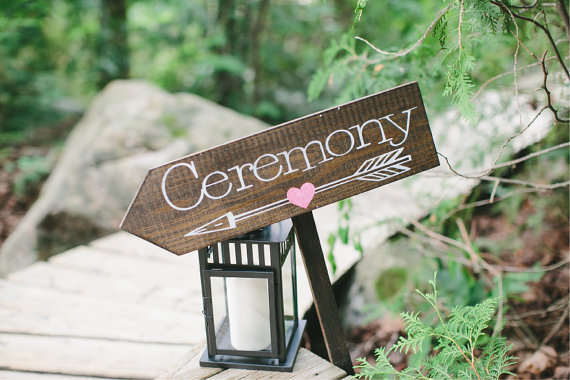 ceremony wedding sign - 8 Perfect Ceremony Accessories