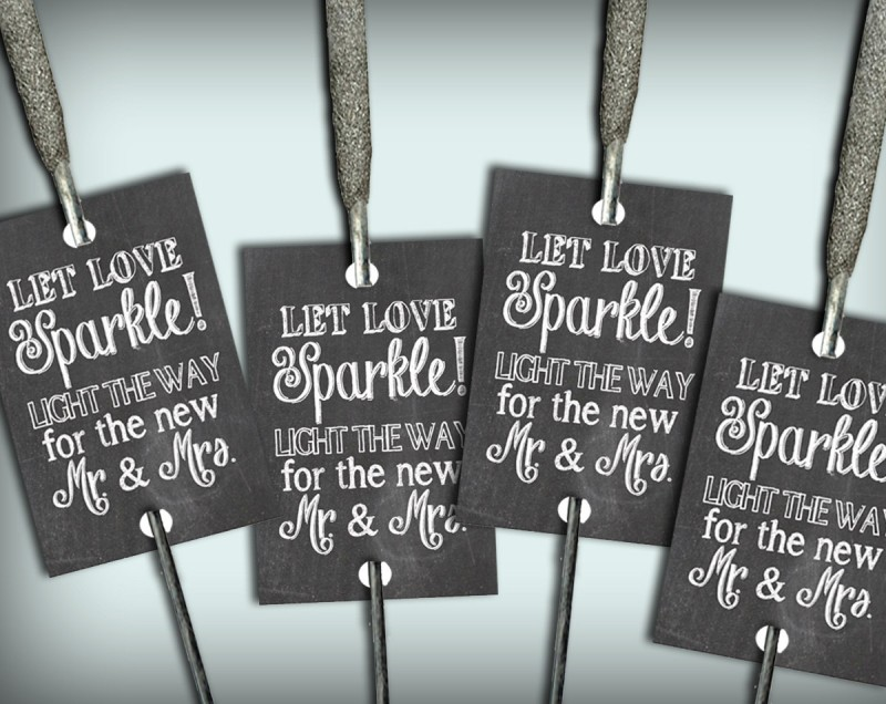 chalkboard let love sparkle sparkler tags