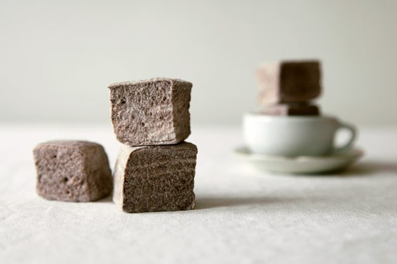 50 Best Bridal Shower Favor Ideas: chocolate marshmallows (by whimsy and spice)