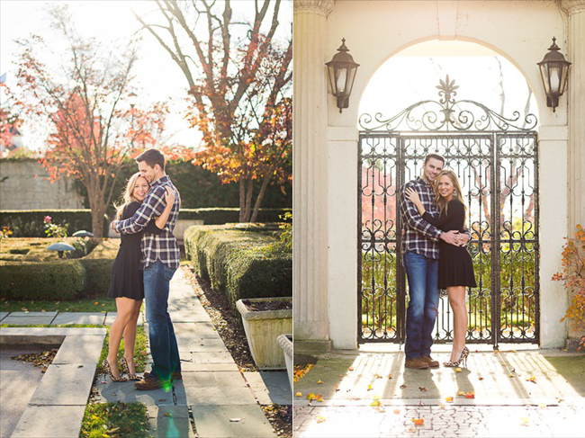 Detroit engagement shoot