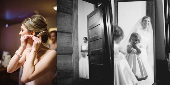 Duluth winter wedding - LaCoursiere Photography - bride getting ready before wedding
