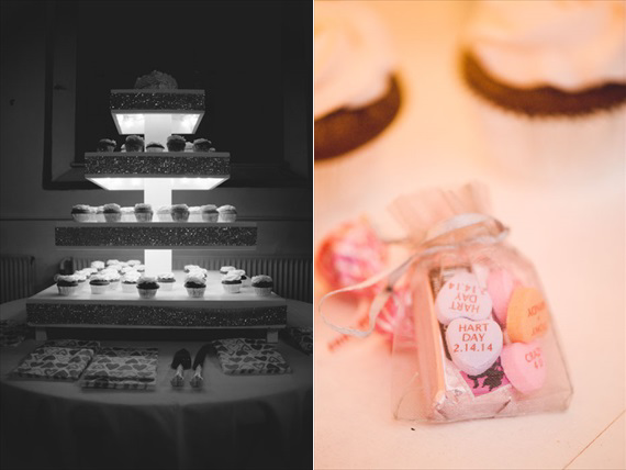 Duluth winter wedding - LaCoursiere Photography - valentine's day wedding candy