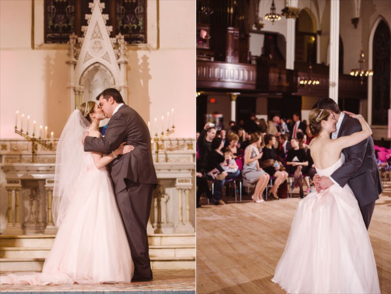 LaCoursiere Photography - bride and groom married at the altar