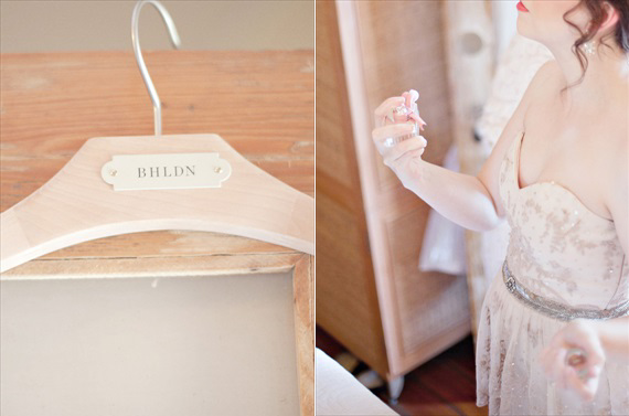 Kali Norton Photography - Mandeville Spring Wedding - bhldn wedding dress and perfume from bride
