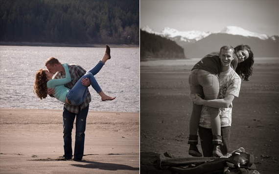 Becoming Images - Juneau Alaska Engagement Session