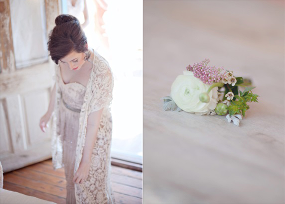 Kali Norton Photography - Mandeville Spring Wedding - bride getting ready and boutineer