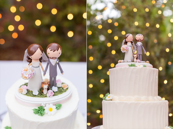 Filda Konec Photography - personalized bride and groom cake toppers