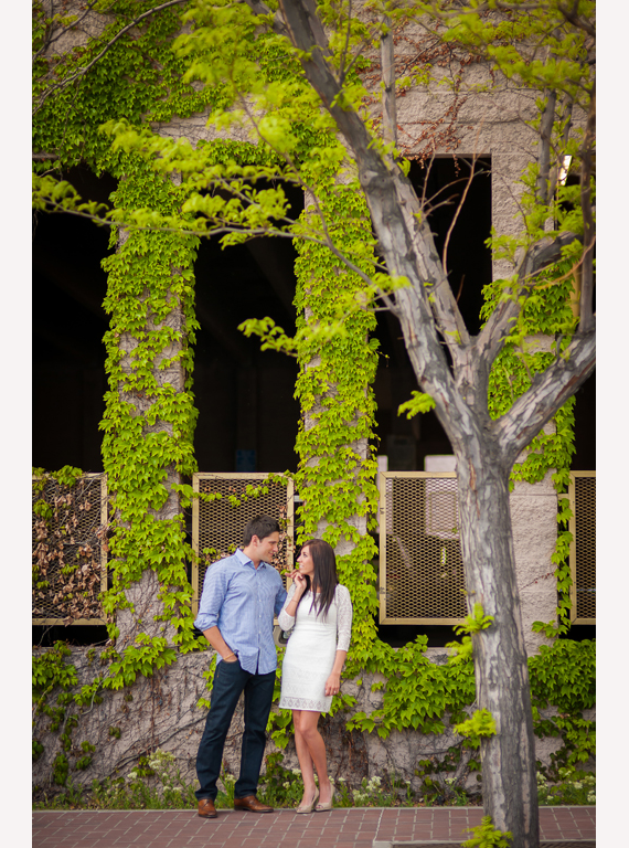 Winsor Photography - couple hanging out in downtown salt lake city