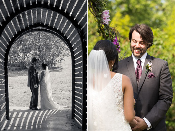 Daniel Fugaciu Photography - tyler arboretum wedding vows