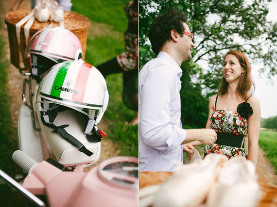 LES AMIS PHOTO - Vespa Engagement Session