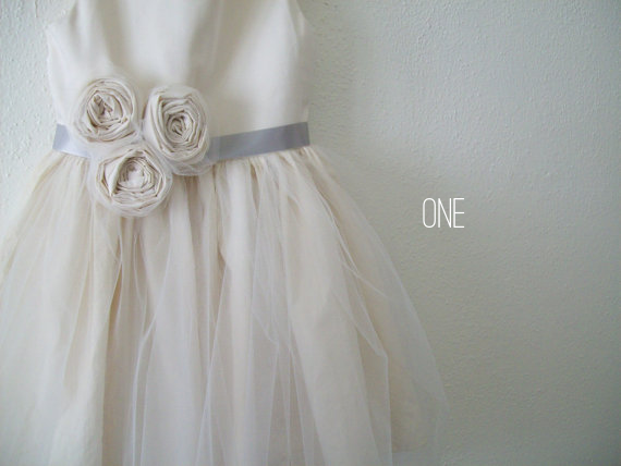 Organic, Natural Flower Girl Dresses