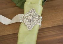 crystal bouquet wrap
