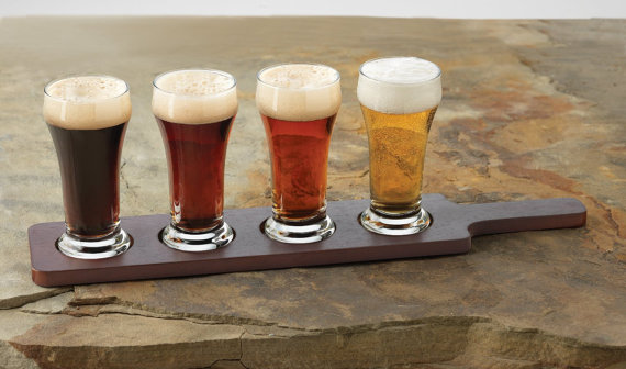 custom beer flight groomsmen gifts - Top Groomsmen Gift Ideas for 2014