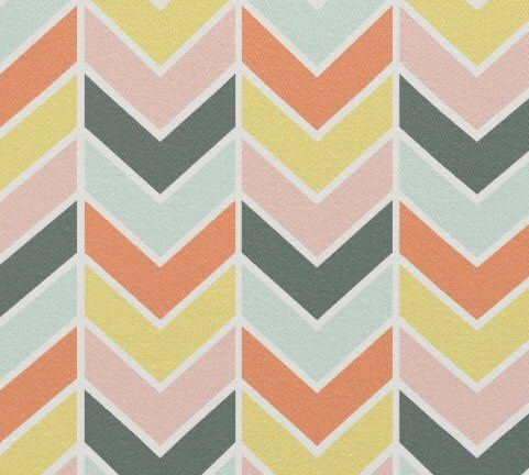 custom fabric chevron
