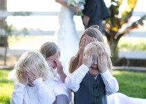 cute kids photo wedding