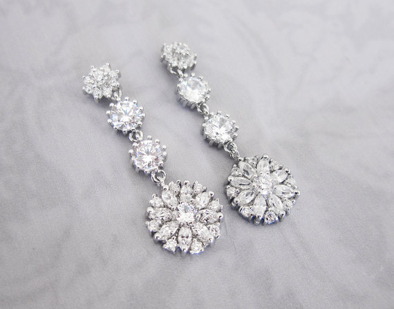 daisy earrings by lottie da designs | daisy ideas theme weddings