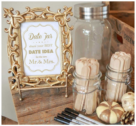 Date Jar How To Make A Date Jar Guest Book For Weddings