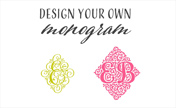 How to Design Your Own Monogram