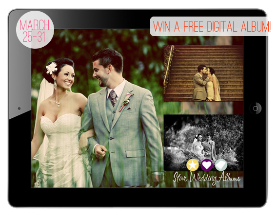 Win a FREE Digital Album Design (by Star Wedding Albums via EmmalineBride.com) #handmade #wedding