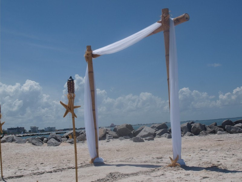 diy beach wedding arch | Best DIY Wedding Projects via http://emmalinebride.com/decor/best-wedding-diy-projects/