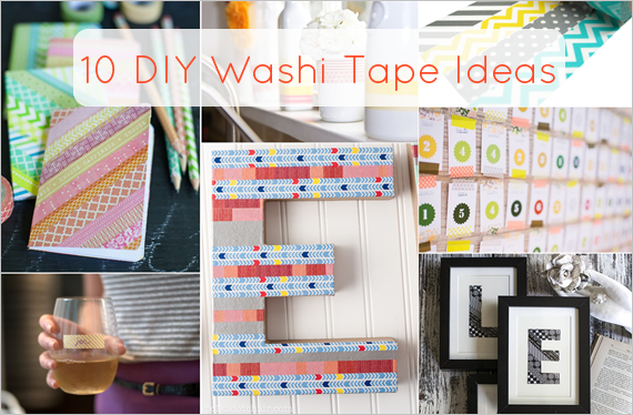 diy washi tape ideas
