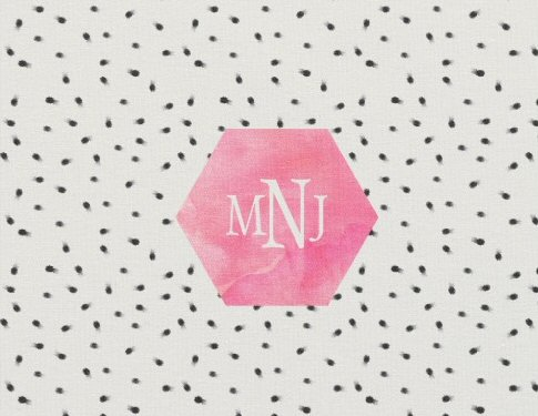 easy diy wedding ideas fabric monogrammed
