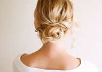 easy wedding up do