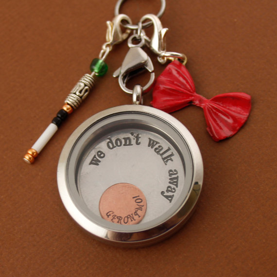 dr who eleventh doctor | Offbeat Wedding Theme:  Floating Lockets