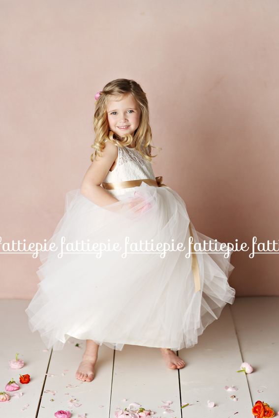 elizabeth flower girl dress fattipie