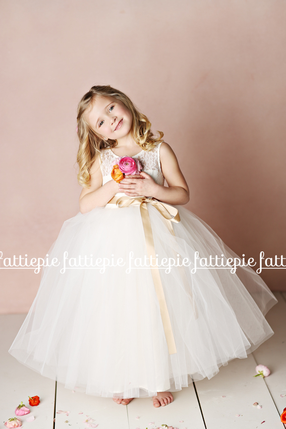 elizabeth flower girl dress (by Fattie Pie) - formal flower girl dresses #wedding