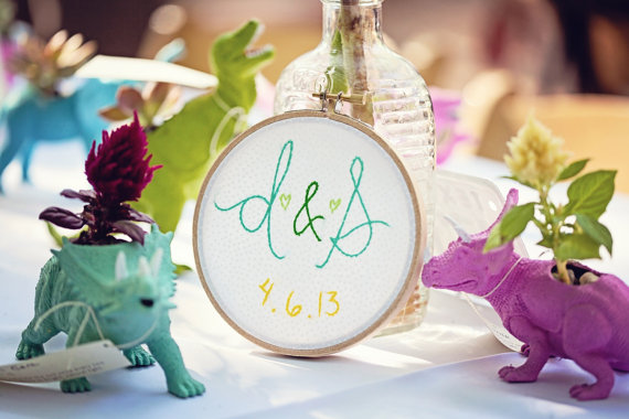 embroidered wedding ideas (by the merriweather council)