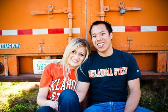 engagement photo ideas - the sports teams